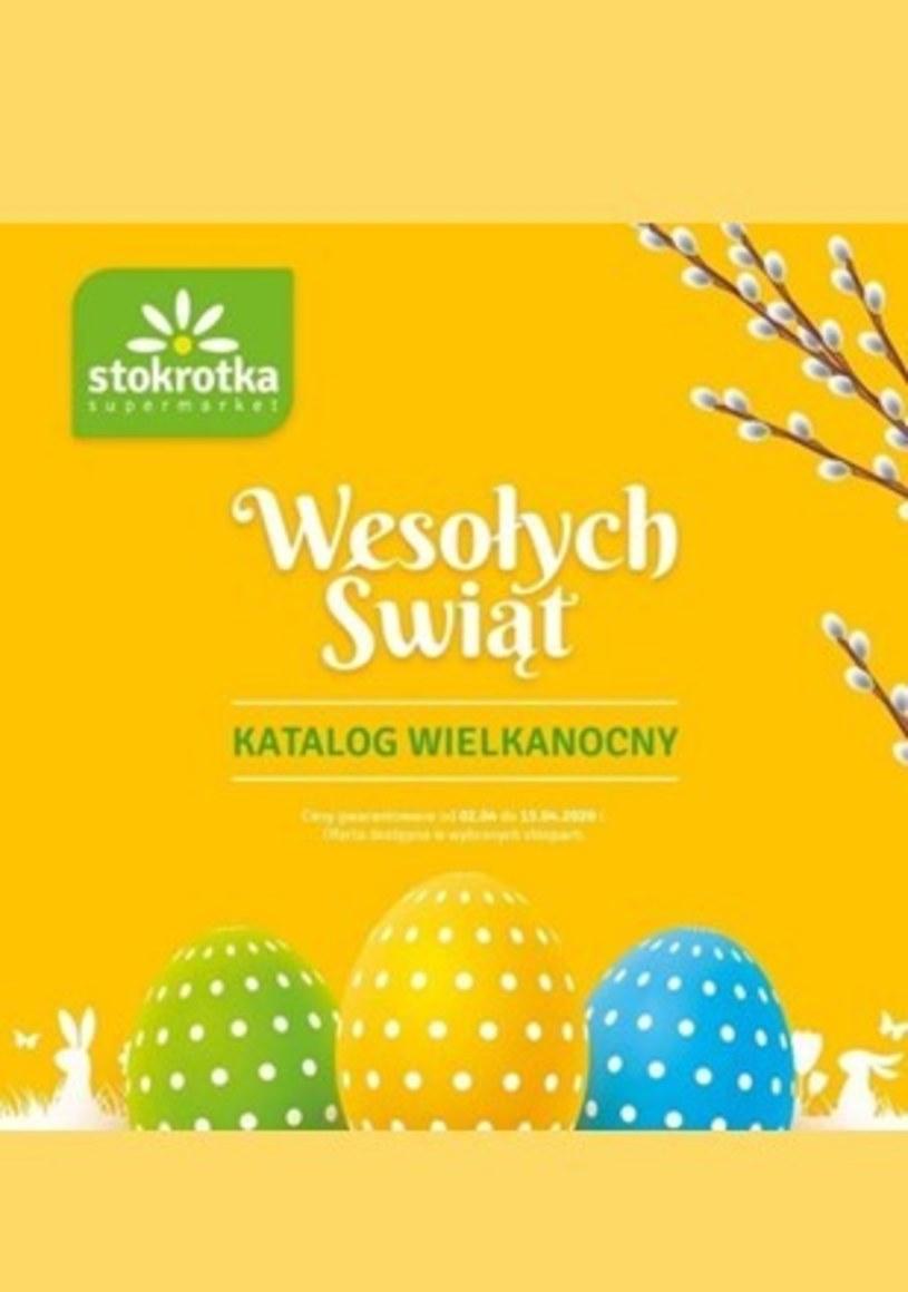 Gazetka promocyjna Stokrotka Supermarket - ważna od 02. 04. 2020 do 15. 04. 2020