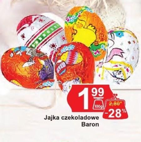 Jajka czekoladowe Baron