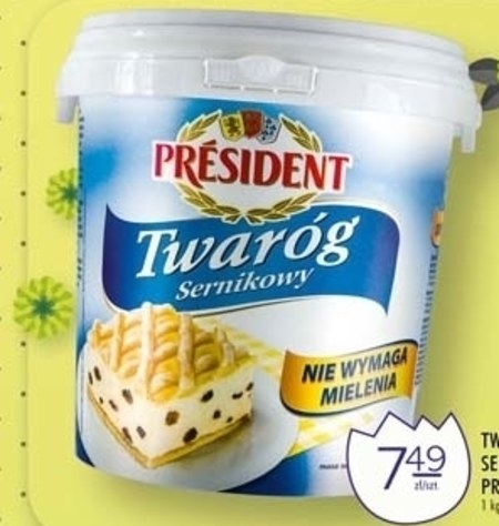Twaróg President