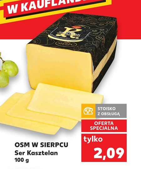 Ser żółty OSM Sierpc