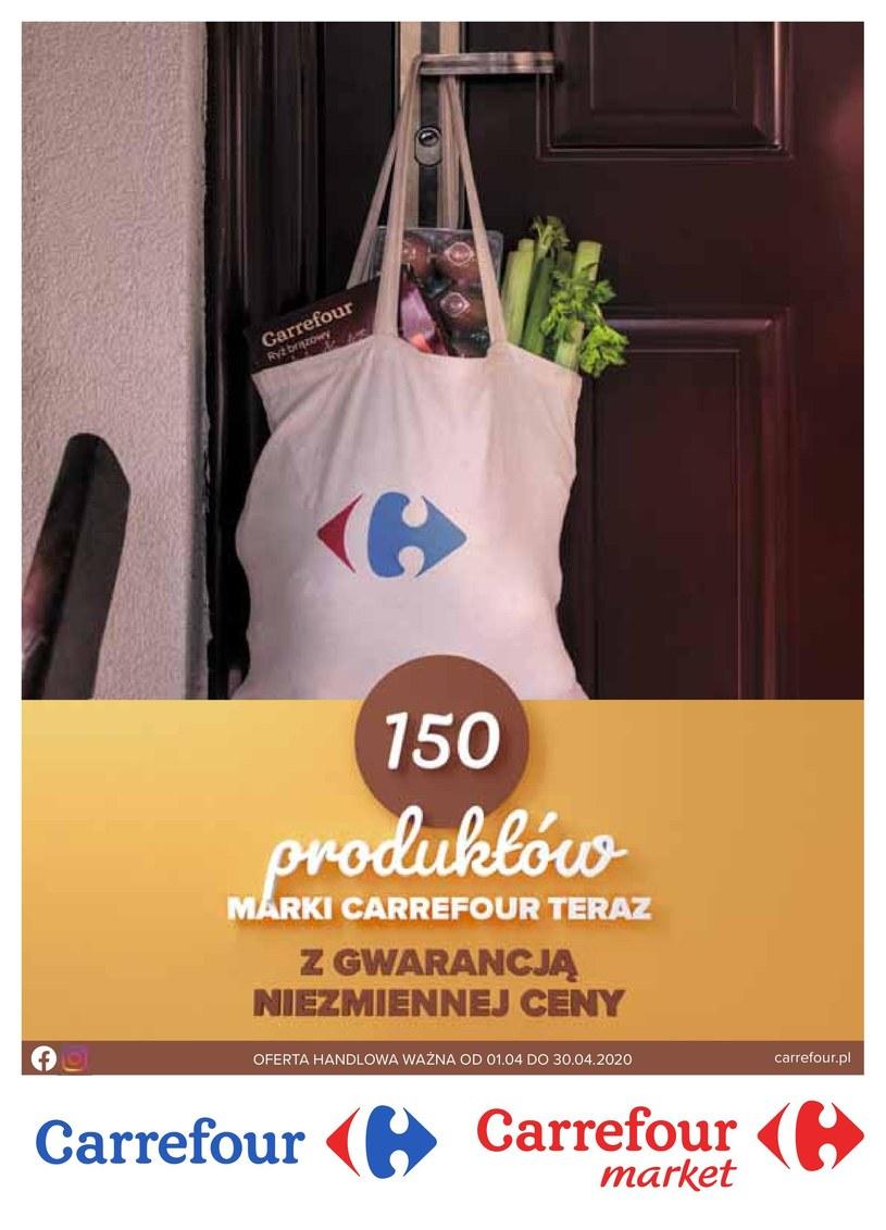 Gazetka promocyjna Carrefour - ważna od 01. 04. 2020 do 30. 04. 2020