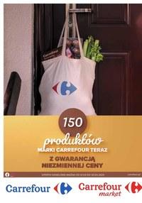 Gazetka promocyjna Carrefour - Gwarancja niezmiennych cen w Carrefour!