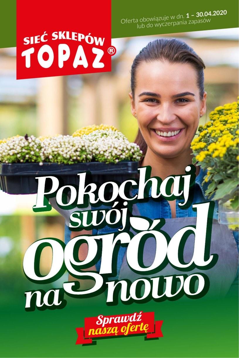 Gazetka promocyjna Topaz - ważna od 01. 04. 2020 do 30. 04. 2020
