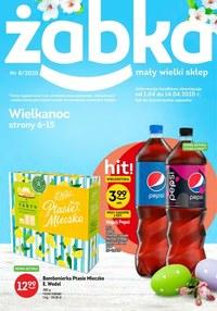 Gazetka promocyjna Żabka - Wielkanoc w Żabce - ważna do 14-04-2020