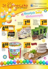 Gazetka promocyjna Słoneczko - Oferta handlowa Słoneczko - lubuskie, dolnośląskie - ważna do 12-04-2020