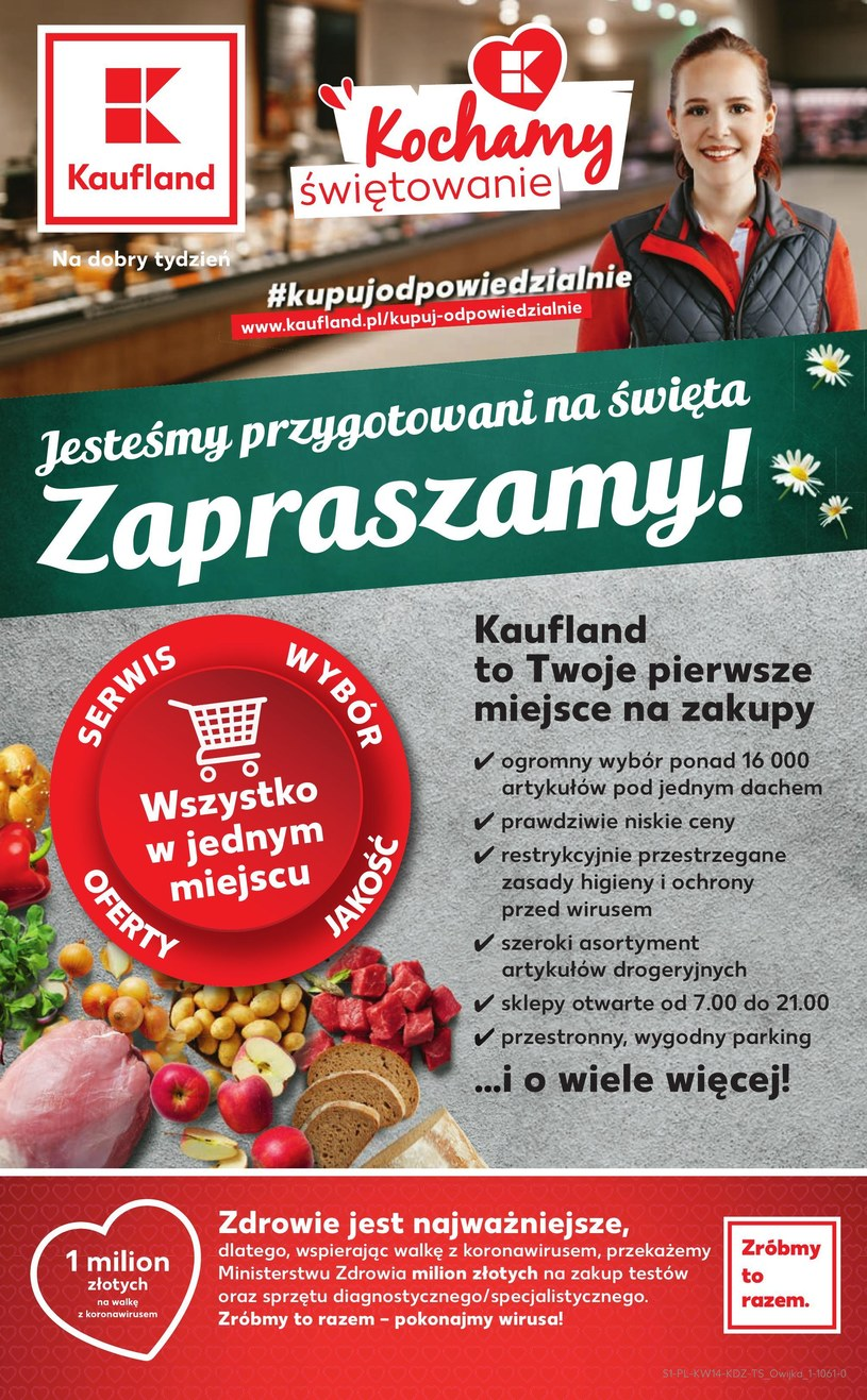 Gazetka promocyjna Kaufland - ważna od 02. 04. 2020 do 07. 04. 2020