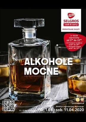 Alkohole mocne w Selgros