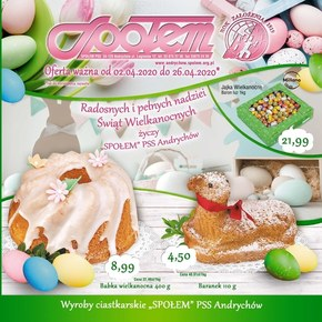 Promocje w sklepach PSS Andrychów