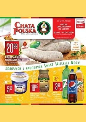 Wielkanocne produkty w Chacie Polskiej
