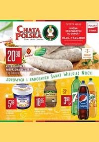 Gazetka promocyjna Chata Polska - Wielkanocne produkty w Chacie Polskiej - ważna do 11-04-2020