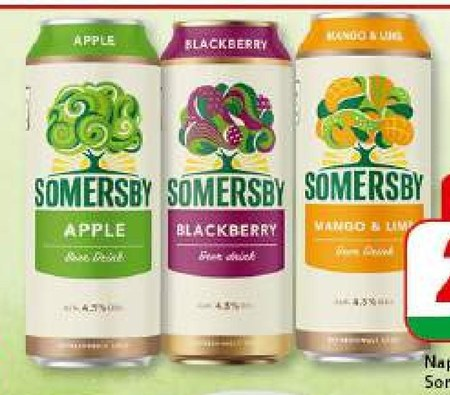 Piwo Somersby
