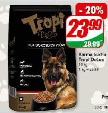 Karma dla psa Tropi