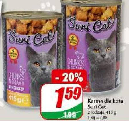 Karma dla kota Suri cat