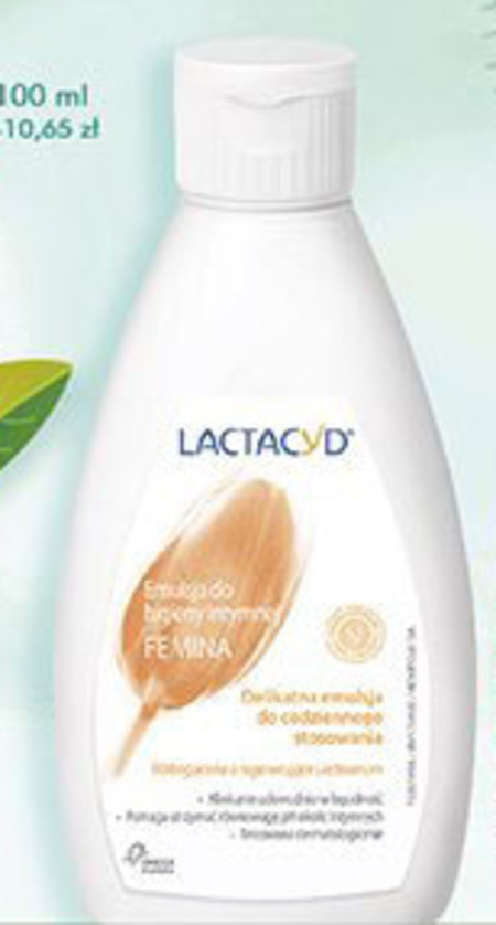 Emulsja do higieny intymnej Lactacyd