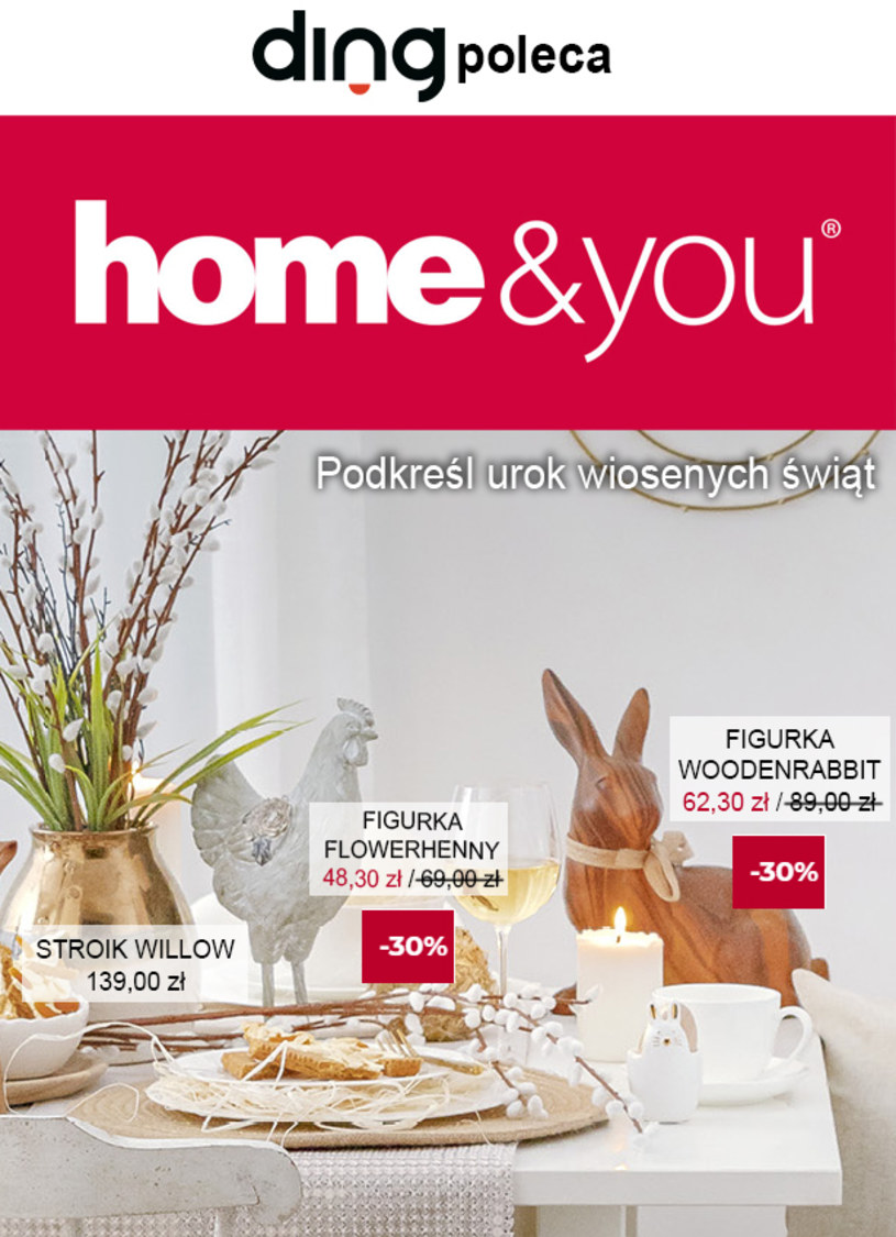 Gazetka promocyjna Home&You - ważna od 02. 04. 2020 do 12. 04. 2020