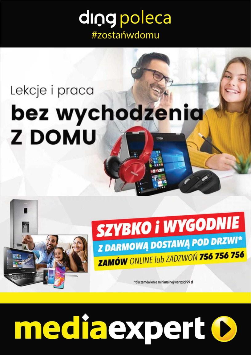 Gazetka promocyjna Media Expert - ważna od 31. 03. 2020 do 12. 04. 2020