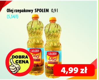 Olej Społem niska cena