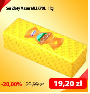 Ser żółty Mlekpol niska cena