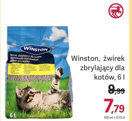 Żwirek dla kota Winston