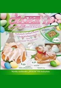 Gazetka promocyjna PSS Andrychów - Promocje w sklepach PSS Andrychów - ważna do 26-04-2020