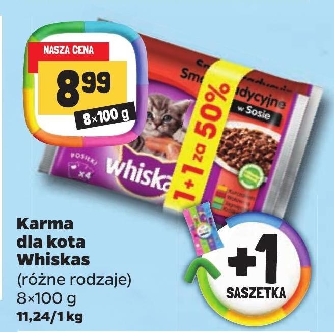 Karma dla kota Whiskas niska cena