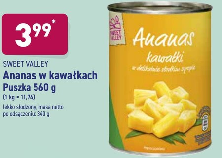 Ananas w puszce Sweet Valley