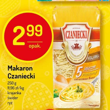Makaron Czaniecki