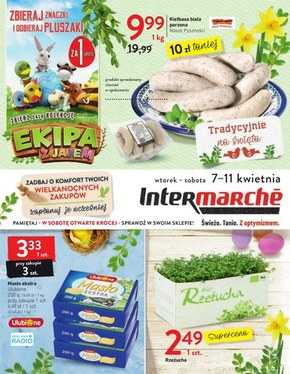 Wielkanocne zakupy w Intermarche!