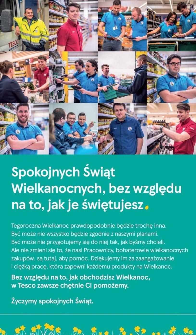 Gazetka promocyjna Tesco Supermarket - ważna od 07. 04. 2020 do 11. 04. 2020