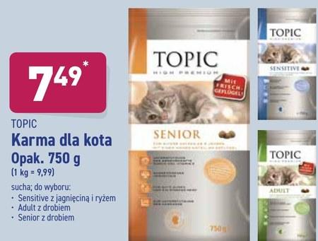 Karma dla kota Topic