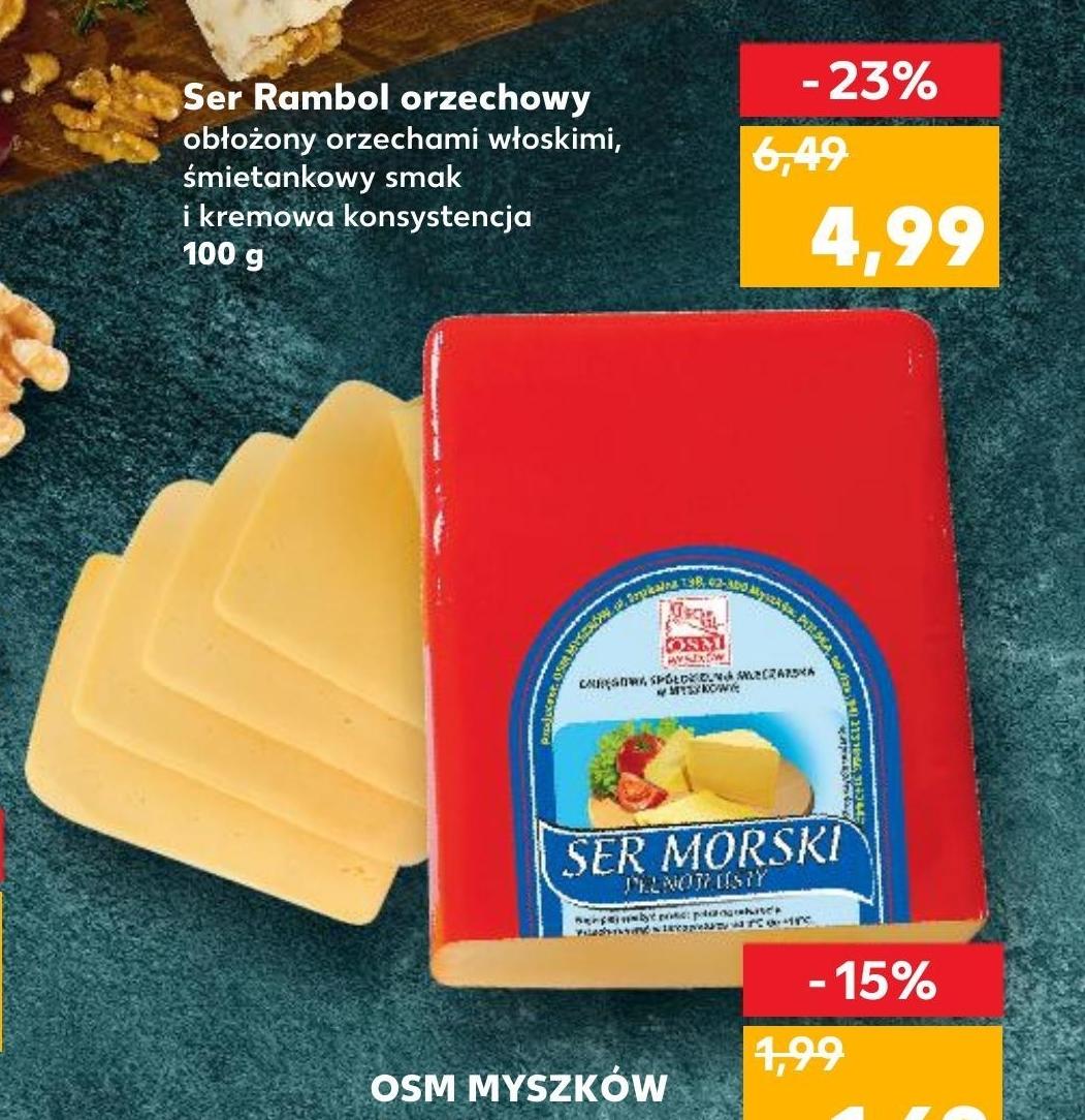 Ser żółty niska cena