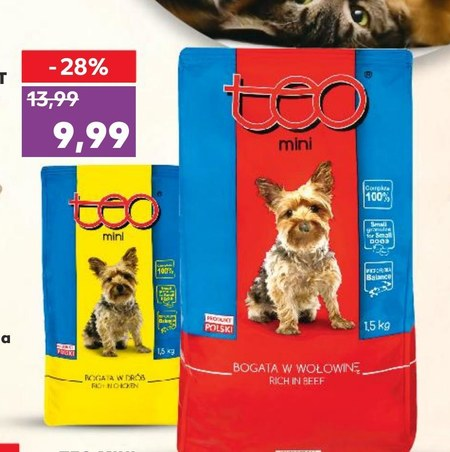 Karma dla psa Teo