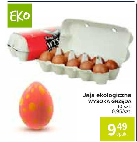 Jajka Wysoka Grzęda