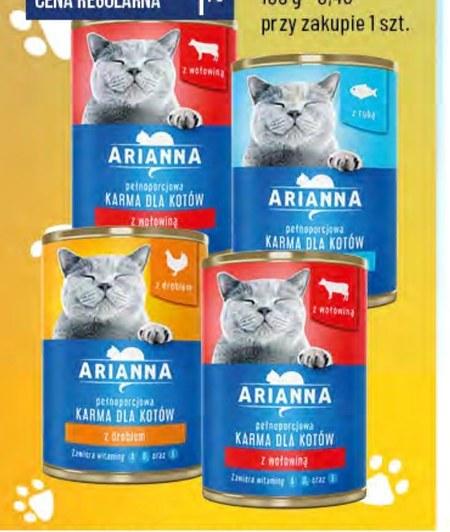 Karma dla kota Arianna