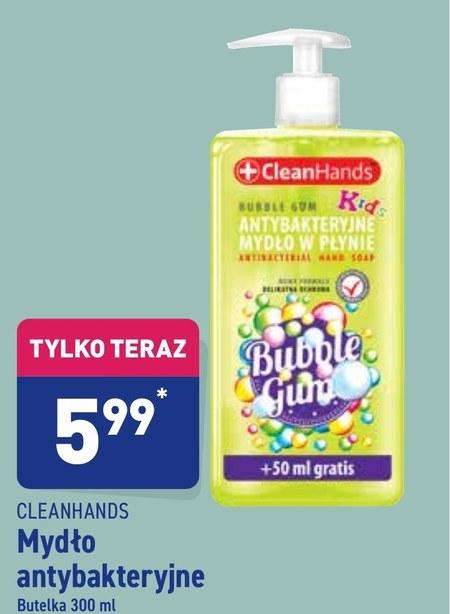 Mydło w płynie Cleanhands
