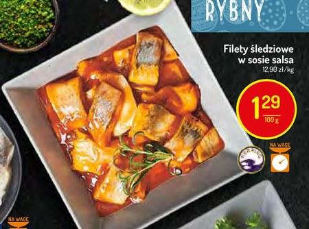 Filety śledziowe