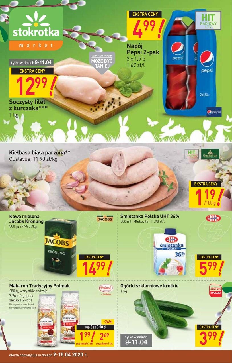 Gazetka promocyjna Stokrotka Market - ważna od 09. 04. 2020 do 15. 04. 2020
