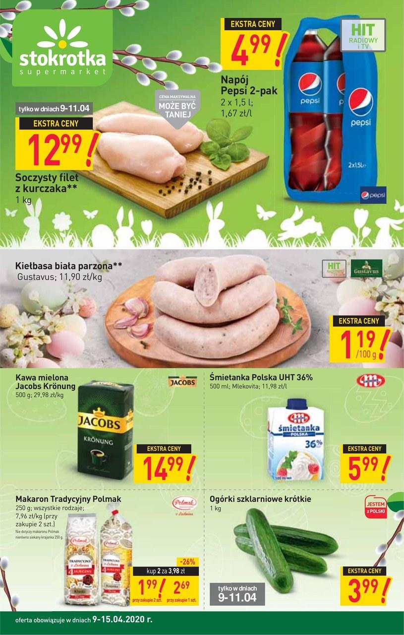 Gazetka promocyjna Stokrotka Supermarket - ważna od 09. 04. 2020 do 15. 04. 2020