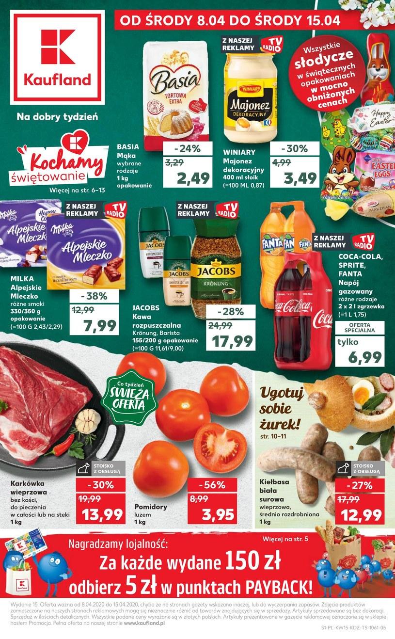 Gazetka promocyjna Kaufland - ważna od 08. 04. 2020 do 15. 04. 2020