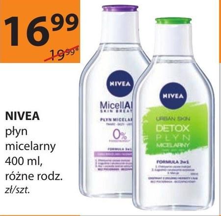 Płyn micelarny Nivea