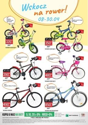 Promocje na rowery w Bi1