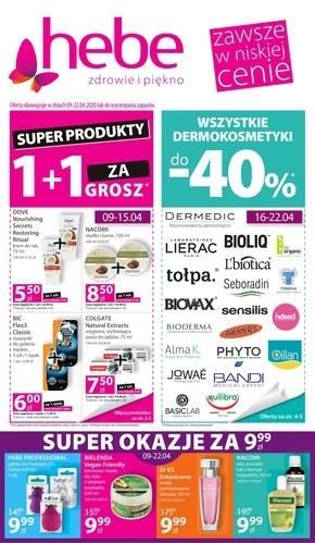Super produkty w Hebe!