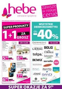 Gazetka promocyjna Hebe - Super produkty w Hebe! - ważna do 22-04-2020