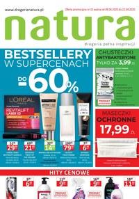 Gazetka promocyjna Drogerie Natura - Super ceny w Drogeriach Natura! - ważna do 22-04-2020