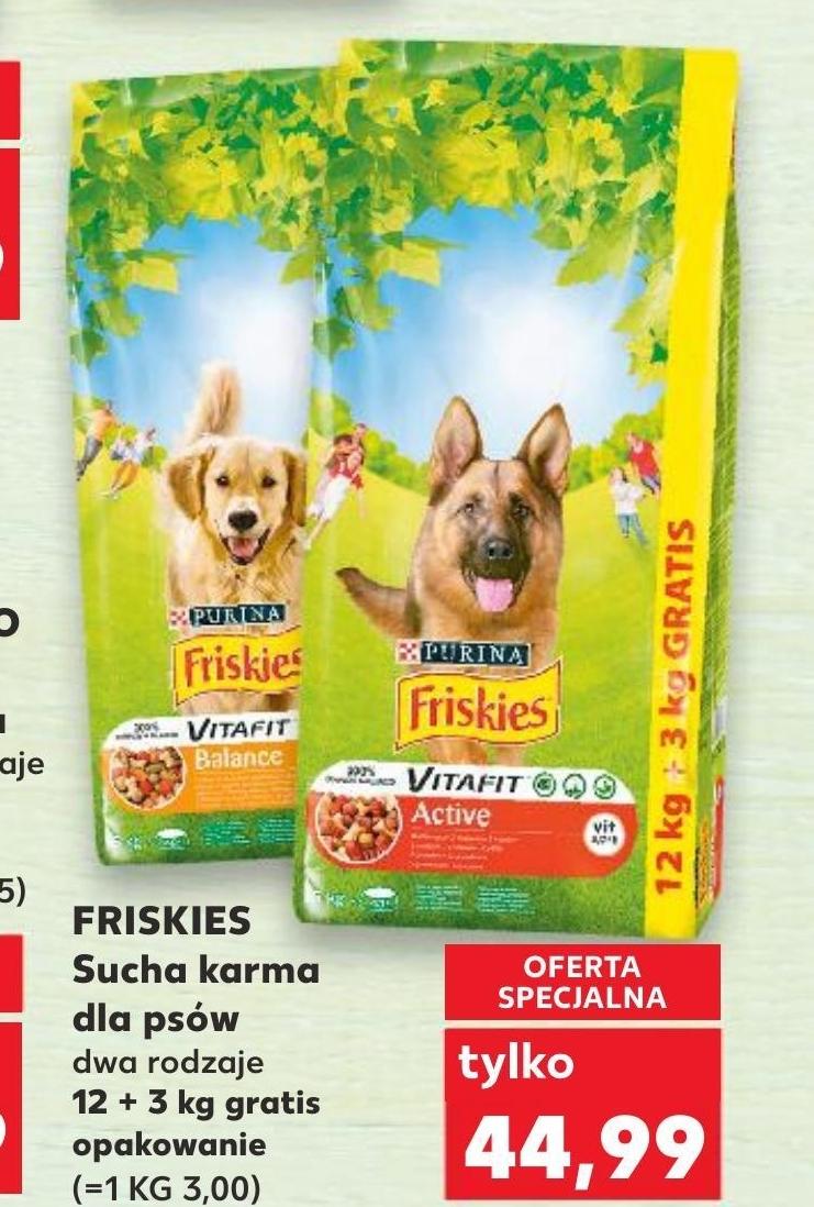 Karma dla psa Friskies niska cena