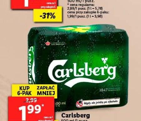 Piwo Carlsberg