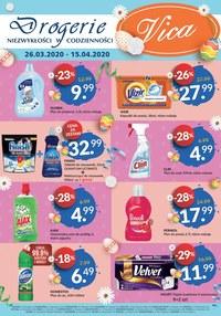 Gazetka promocyjna Vica - Promocje w sklepach Vica - ważna do 15-04-2020