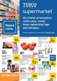 Gazetka promocyjna Tesco Supermarket - Niskie ceny w Tesco - ważna do 22-04-2020