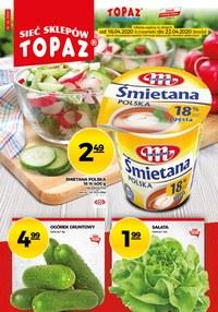 Gazetka promocyjna Topaz - Promocje w sklepach Topaz - ważna do 22-04-2020