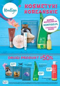 Gazetka promocyjna Kontigo - Kosmetyki koreańskie w Kontigo! - ważna do 26-04-2020